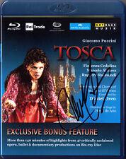 Blu-Ray Marcelo ALVAREZ Signed PUCCINI TOSCA Fiorenza Cedolins Ruggero Raimondi