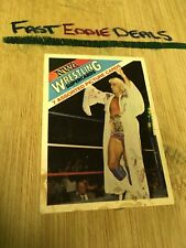 WONDERAMA 1988 NWA WRESTLING SUPERCARDS RIC FLAIR PICTURE CARD POOR CONDITION