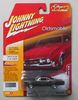 1967 Pewter Oldsmobile 442 JOHNNY LIGHTNING DIE-CAST 1:64