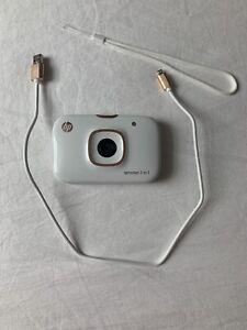 HP Sprocket 2-in-1 Photo Camera/Printer + Photo Sheets