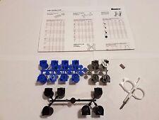 Hunter I-20 / PGP Ultra Nozzle Kit - Blue & Black rack, Hex Screw, Key, Guide