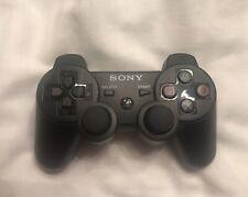 PS3 Official Sony Black Wireless Dualshock 3 Controller Model CECHZC2U