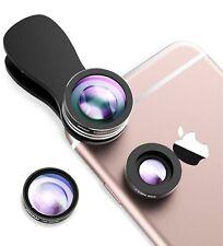 Mpow Fisheye Lens,3 in 1 Clip-On 180 Degree Supreme Fisheye Lens + 0.65X Wide...