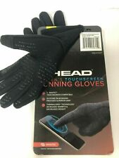 Head Unisex UltraFit Sensatec Touchscreen Running Gloves Various Size/Black