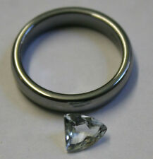 ACQUAMARINA NATURALE 6x7mm Sfaccettate Sciolte Gemstone FANCY CUT 0.8 Ct minerali aq35d