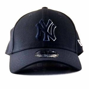 New Era NY Yankees MLB Dim Outline 39Thirty Stretch Hat Curve