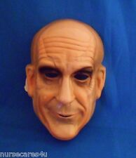 OLD MAN PVC MASK SENIOR CITIZEN HALLOWEEN MASK WRINKLES MEN WOMEN CHILDREN