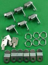 "RV Designer L325-6 RV Motorhome 5/8"" Ace Key Compartment Door Lock 6 Pack"