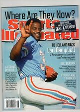 2012 Sports Illustrated Si EARL CAMPBELL Oilers newsstand copy