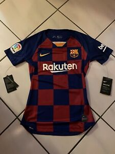 Nike Women's 2019/2020 Barcelona Home Soccer Jersey Sz XS AJ5748-456
