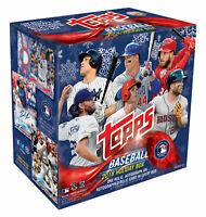 Topps 2018 Holiday Baseball Trading Cards Mega Box, Possible Acuna RC!