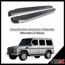 Alu Trittbretter für Mercedes G-Klasse W463 2007-2018 Seitenschweller