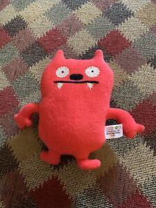 "Little Uglys Doll Red 7"" Dave Darinko Plush"