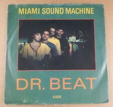 "Miami Sound Machine : Dr Beat : Vintage 7"" Single from 1984"