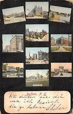 AK Buffalo N. Y. Postkarte gel. 1911