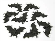Pack of 8 Bats, Halloween,Prop,Loot/Goodie Bags,Rubber Toy Novelty,Fancy Dress