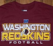 NEW w/o Tags ~ WASHINGTON REDSKINS FOOTBALL ~ NFL TEAM APPAREL T-Shirt Size S