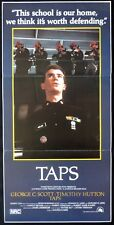 TAPS 1981 Penn Cruise Hutton US MILITARY Daybill Movie poster