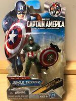 Marvel Captain America Jungle Trooper Movie Series 3 Action Figure #13