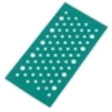 Norton Expert Orbital Sanding Sheets Punched Velcro 115 x 230mm 80 Grit Pk5