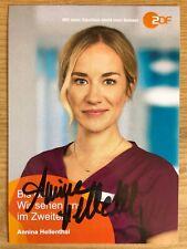 Annina Hellenthal AK ZDF Bettys Diagnose Autogrammkarte 2019 original signiert