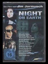 DVD NIGHT ON EARTH - JIM JARMUSCH - WINONA RYDER + ROBERTO BENGINI *** NEU ***