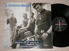 """LONDONBEAT - THERE'S A BEAT GOING ON - MAXI-SINGLE 12"""" ENGLAND"""