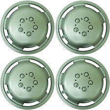 "Extra Deep Dish 16"" Car Wheel Trims Hub Caps Plastic Covers Silver Universal (4P"