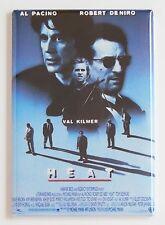 Heat FRIDGE MAGNET (2.5 x 3.5 inches) movie poster michael mann pacino de niro
