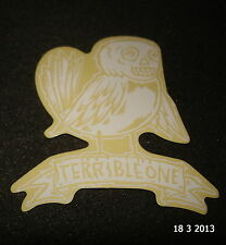 1 Authentic terrible ONE cuadro de BMX con el logotipo de STICKER/DECAL/AUFKLEBER T1 #37