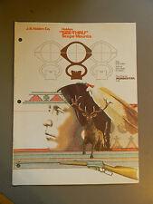 "Holden ""See-Thru"" Scope Mounts Brochure 1977"
