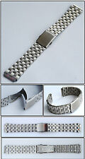 bracciale acciaio orologi 20 Mm20 mm con fermaglio SICUREZZA NUOVO