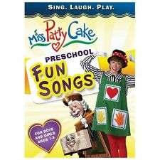 DVD Preschool Fun Songs by Miss Patty Cake (Sep-2013)  Buy It Now $12.00