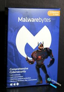 Malwarebytes Anti-Malware 3.0 - 5 Device / 1 Year [Key Card] @NEW@