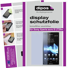 1x Sony Xperia acro S screen protector protection guard crystal clear