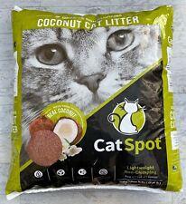 Cat Spot Non-Clumping Formula 100% All-Natural Coconut Litter Organic Biodegrade