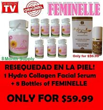 Feminelle PACK  (8 Bottles) + 1 FREE FACIAL COLLAGEN