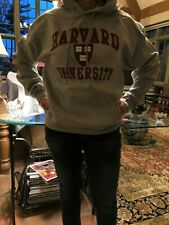 Harvard University Hoodie Grey NWT size M 100% Cotton