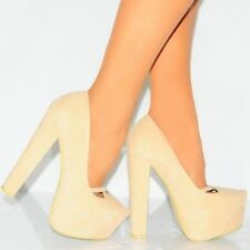 Unbranded Faux Suede Court Heels for Women