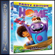 HOME - DREAMWORKS **BRAND NEW DVD**