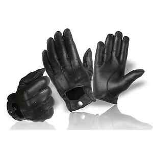 Real Leather Ladies & Gentlemen Angelhandschuhe Gloves For Buttons Classic New