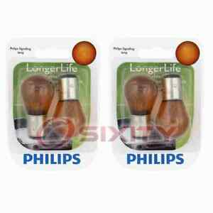 2 pc Philips Parking Light Bulbs for Honda Accord Accord Crosstour Civic kv