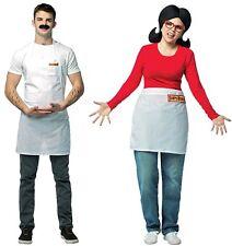 Couples Costumes Bob and Linda Adult Bob's Burgers Halloween Husband Wife