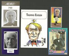 Thomas Edison CARDS! Fab Card Collection