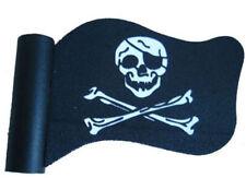 Skull Skeleton Pirate Flag Antenna Ball Car Aerial Ball Antenna Topper Decor NEW