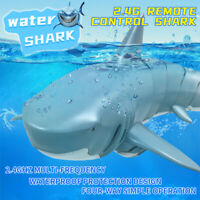Mini 2.4GHz Remote Control Electric RC Fish Shark For Kids Children Toys