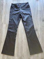 Vtg Spacegirlz Y2K Black Pants Size 5 Wide Leg