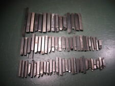 Old Used Vintage Machining Machinist Tools Lathe Tooling Cutting Stock Lot