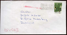 Netherlands 1993 Cover To Germany #C14461