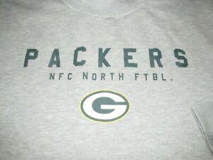 Green Bay Packers NFL Women's Pull Over Sweatshirt Size XL Football Wisconsin